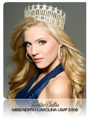 There she is, Miss Amer...oh wait.  Here's your Miss USA everyone!