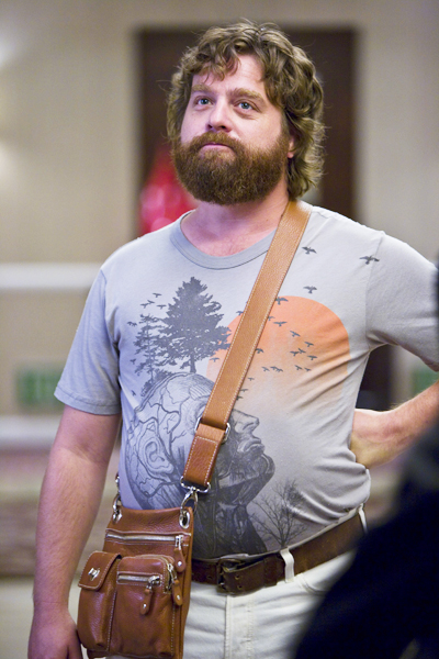 """If I shave I look like a fat Jodi Foster."" - Zach Galifianakis"