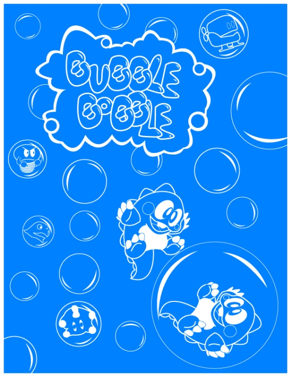 Bubble Bobble by Bobman32x